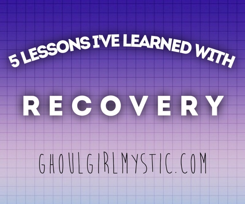 5 Lessons I Learned From Recovery